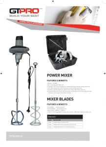 GT PRO PDS_Power Mixer