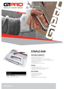 GT PRO PDS_STAPLE GUN