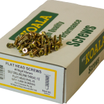 Flat Head Screws Self Drilling Fine Thread Flat Head 10g x 16mm 1000 box