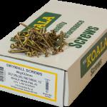 Drywall Screws Self Drilling Fine Thread Bugle Head 6g x 32mm 1000 box