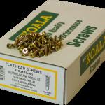 Flat Head Screws Self Drilling Fine Thread Flat Head 10g x 16mm 1000 box